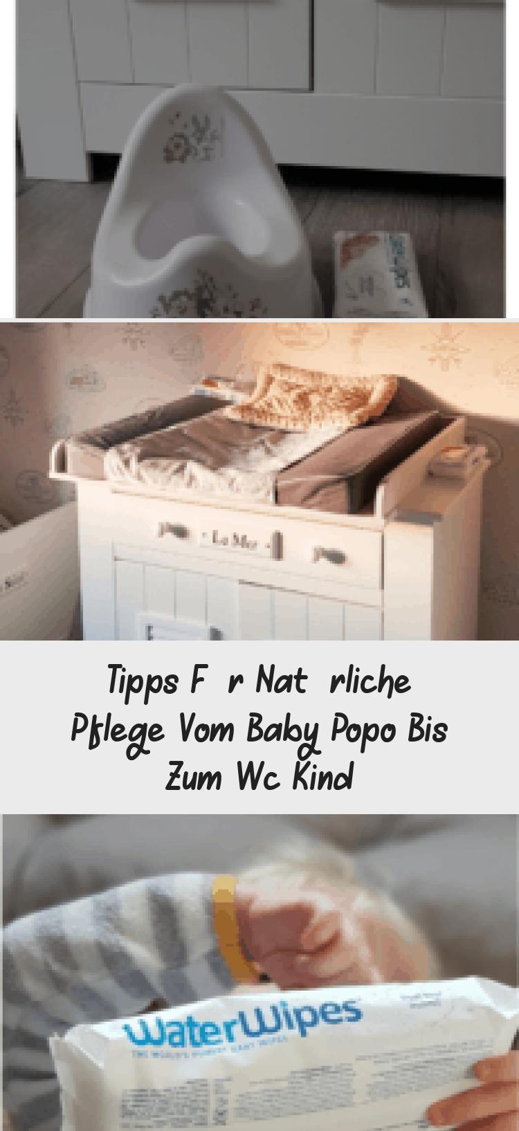 Tipps Fur Naturliche Pflege Vom Baby Popo Bis Zum Wc Kind Babypflege Baby Baby Popo
