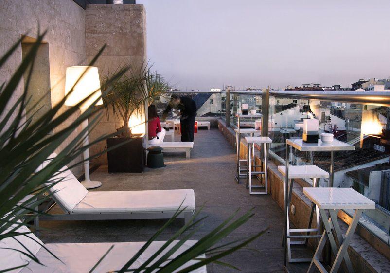 La Terraza Del Urban Madrid Restaurant Urban Hotel Hotel