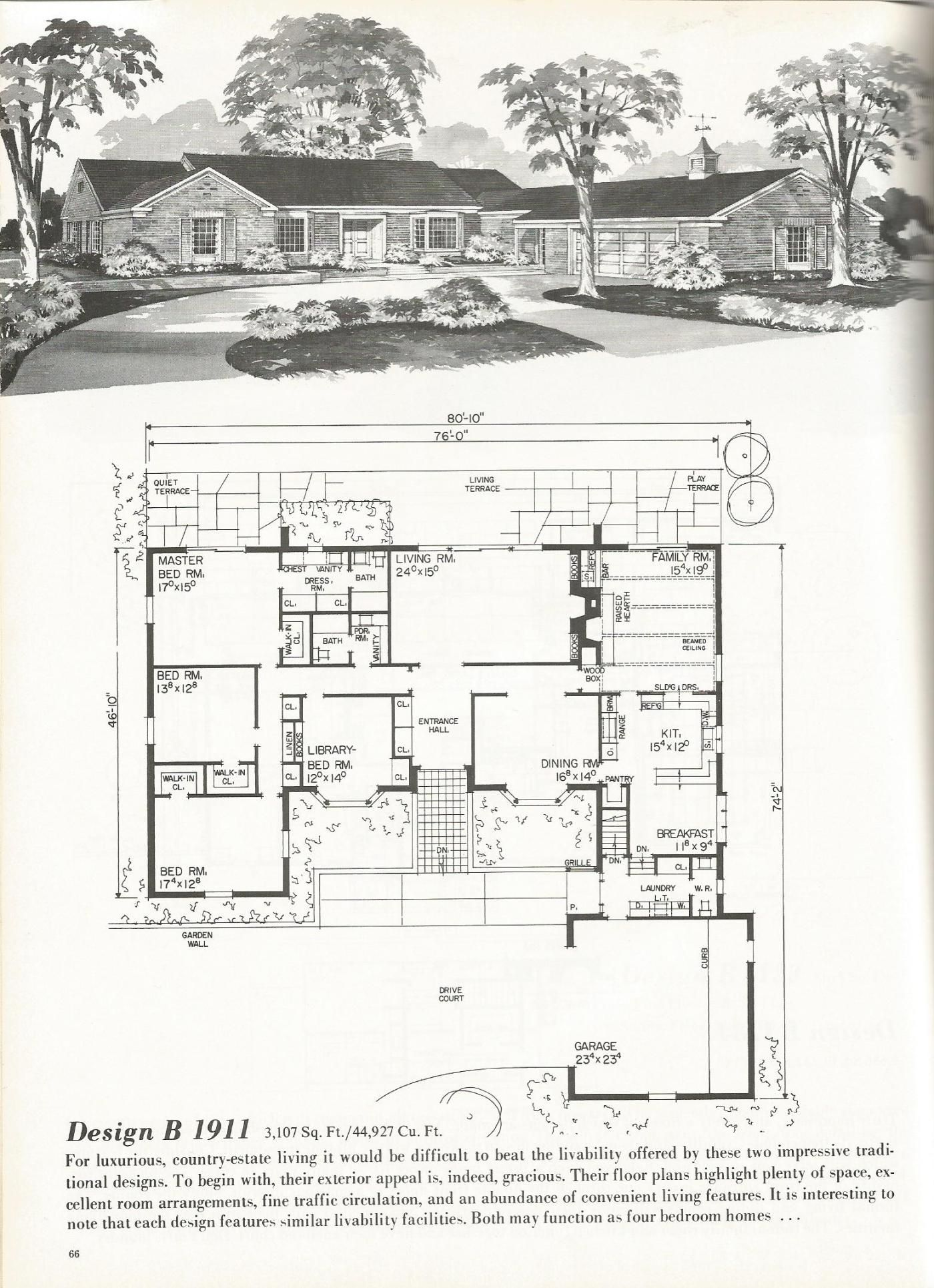 Vintage house plans luxurious homes antique alter ego for New house plans that look old