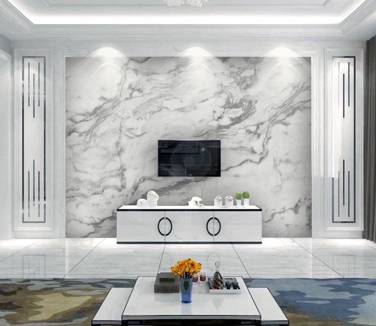 3d Gold White Marble Wallpaper Removable Self Adhesive Wallpaper Wall Mural Vintage Art Peel And Stick In 2021 Mural Wallpaper Wall Murals Marble Wallpaper
