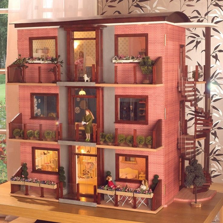 Look For Apartments: Dolls House Apartment Block - Google Search