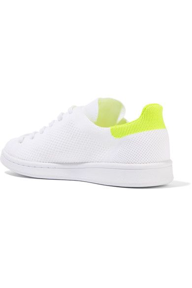 new arrivals 75ee3 ca658 adidas Originals - Stan Smith Boost Primeknit Sneakers - White - US10.5