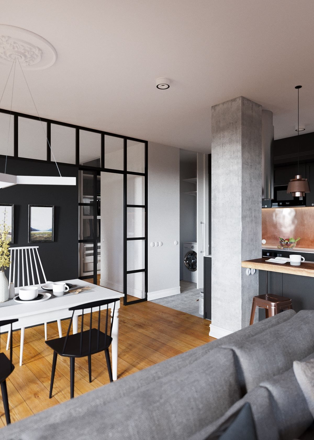 A Beautiful One Bedroom Bachelor Apartment Under 100