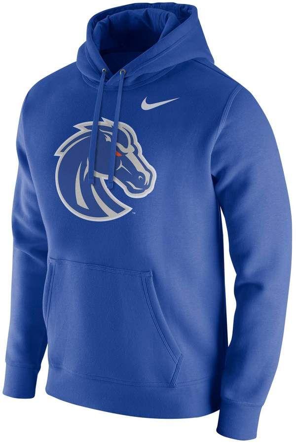 540d0f80eb8 Men s Nike Boise State Broncos Club Fleece Hoodie