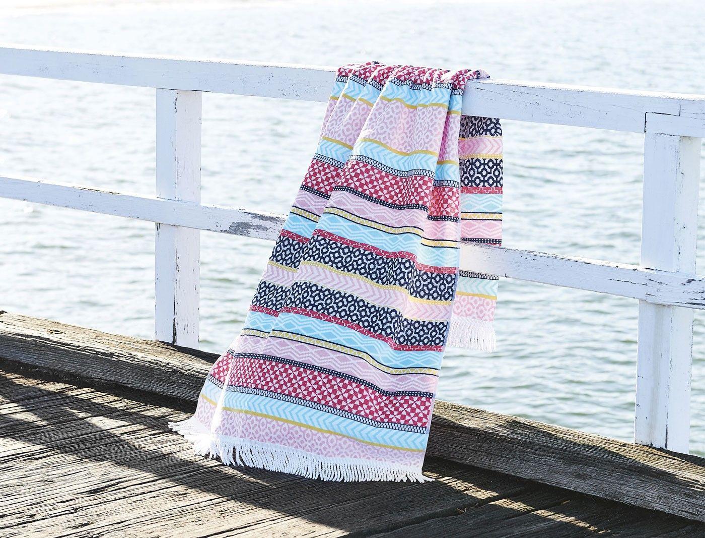 The Morgan Finch Syracuse Beach Towel