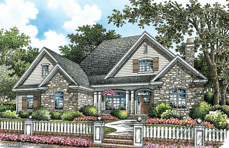 Plan Of The Week Over 2500 Sq Ft The Serendipity Plan 1155 2633 Sq Ft 4 Beds 3 Baths Wedesigndre Ranch House Plans House Plans One Story New House Plans