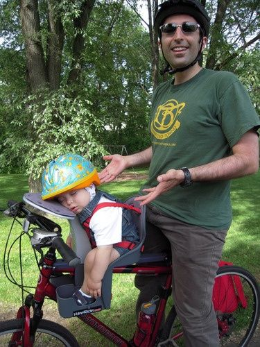 P Johnson I Like This One Front Baby Bike Seat I Am Ready To Get Back On My Bicycle With A Baby Carrier Take My Gra Baby Bike Child Bike