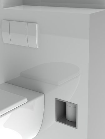 Stock4rolls de oplossing voor toiletrollen blogs van onze stylisten pinterest badkamer en wc - Kleur wc deco ...