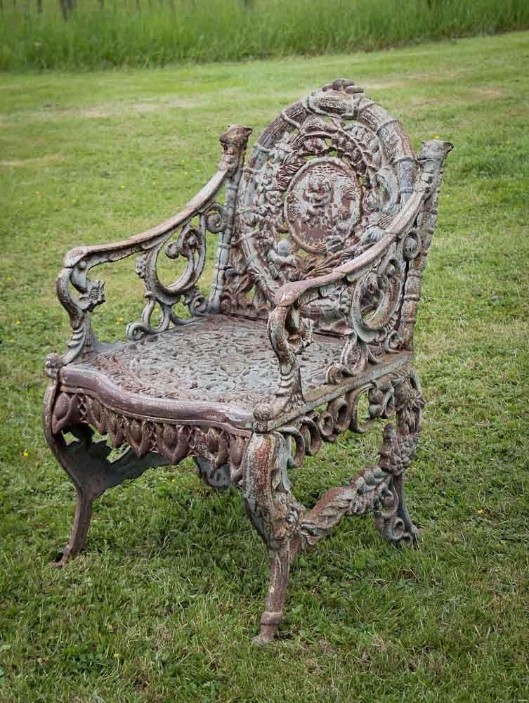Old Antique Cast Iron Chair - Old Antique Cast Iron Chair Enchanted Garden Pinterest Iron