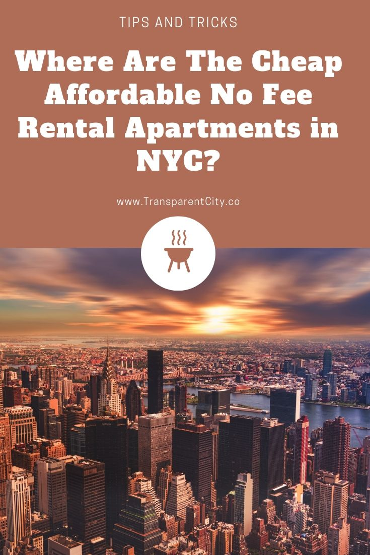 Where Are The Cheap Affordable No Fee Rental Apartments in ...