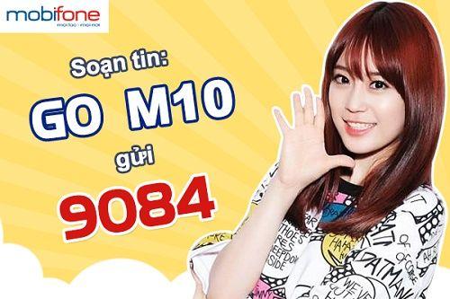Đăng ký gói M10 Mobifone để sử dụng 3G chỉ với 10000 đồng