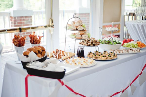 Famous Bridal Shower Brunch Menu: This Pretty Bridal Shower Brunch Has Tons Of Great Food