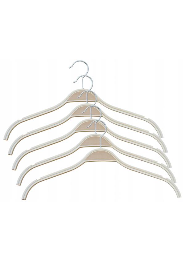 Wieszaki Ze Sklejki 5 Szt Ubraniowe Odziezowe Clothes Hanger Hanger