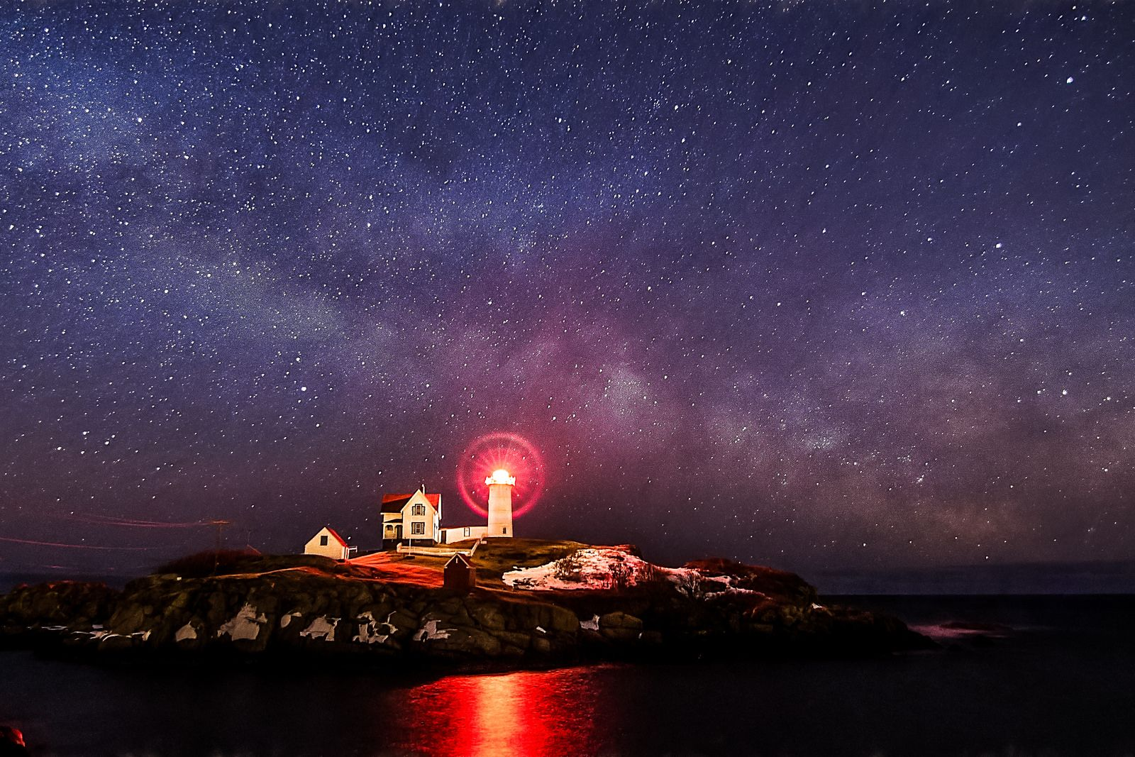 Nubble Starscape | Flickr - Photo Sharing!