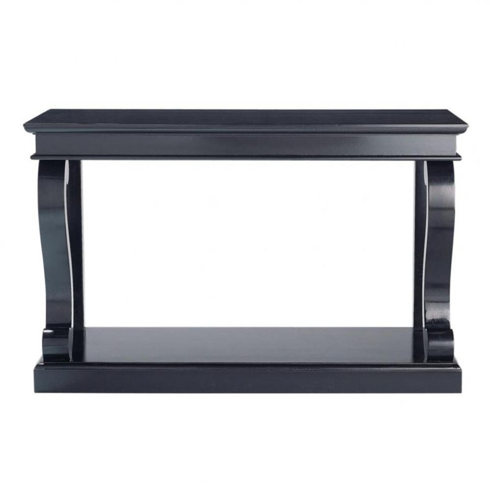 Couchtisch Silvia Schwarz Table Console En Pin Massif Noire Rebecca Robeson Inspiration