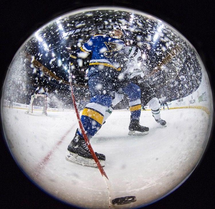 St. Louis Blues snow globe. Snow globes, Snow, Globe