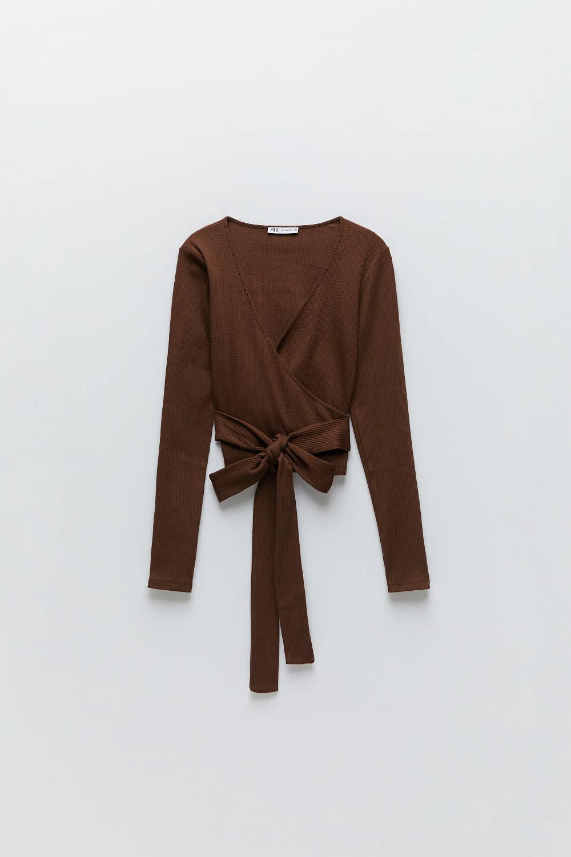 High neck long wrap-organic 100/% cotton pants