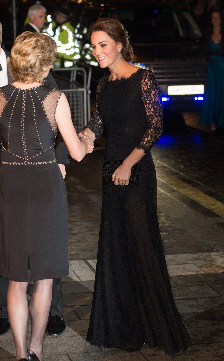 Pin for Later: Kate Middleton ist wirklich die Königin der Schwangerschaftsmode Kleid: Diane von Furstenberg
