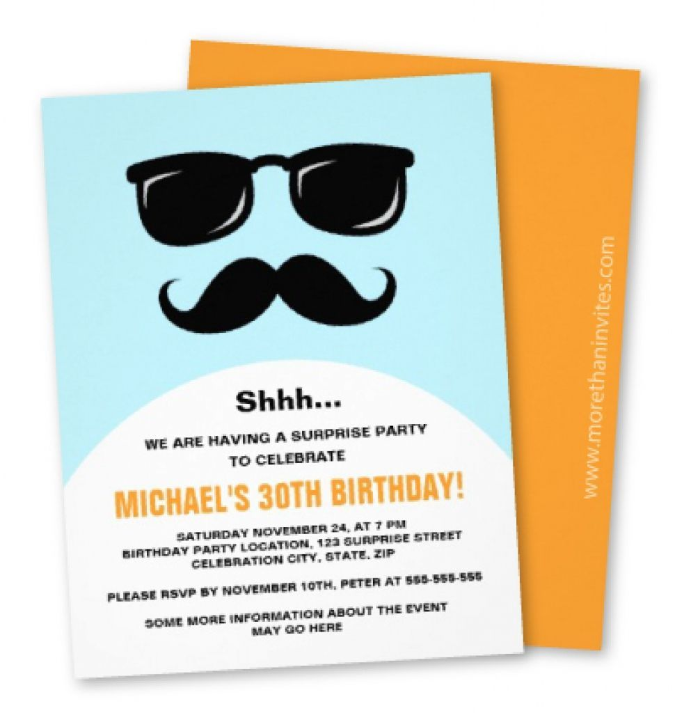 Free Funny Birthday Invitations For Adults