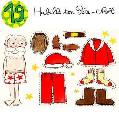 Calendrier de l'avent en dessin! - #calendrier #de #Dessin #en #l39avent #calendrierdel#39;aventdiy