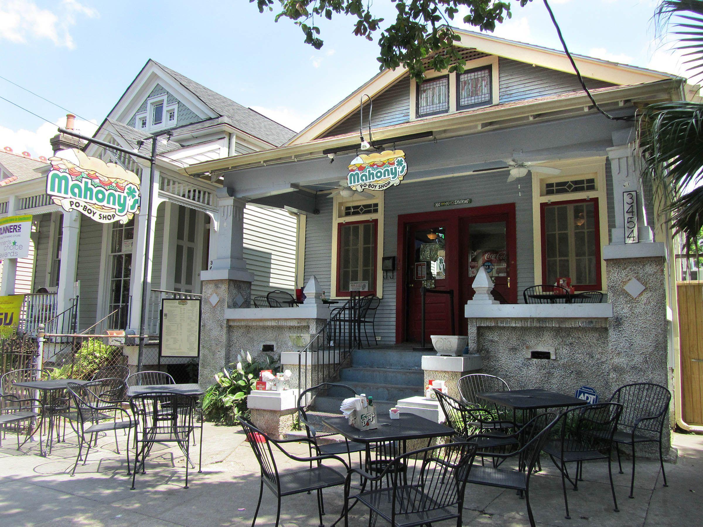 Mahoney 39 s po boy shop new orleans style new orleans - Garden district new orleans restaurants ...