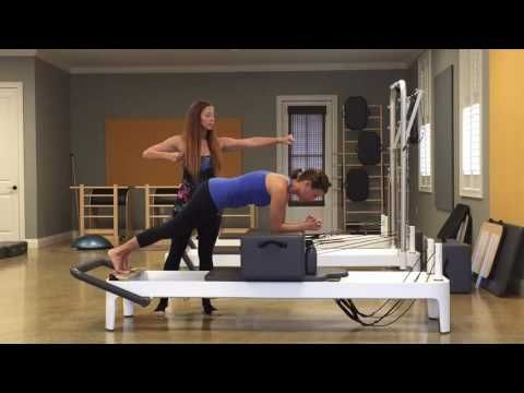 Becky Phares - Pilates Integration Information - Plank on Short Box - YouTube #pilatesworkoutvideos
