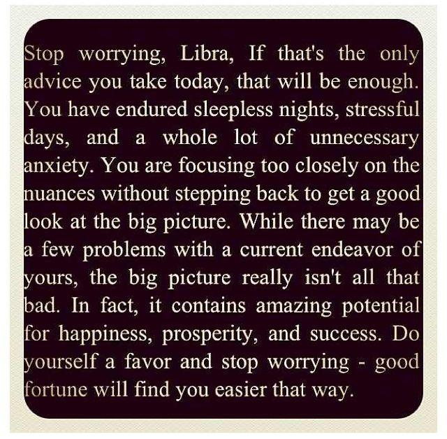 libra girl horoscope today