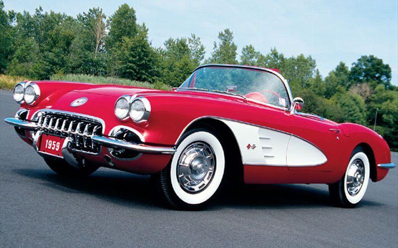 1959 Chevrolet Corvette Convertible Corvette Convertible