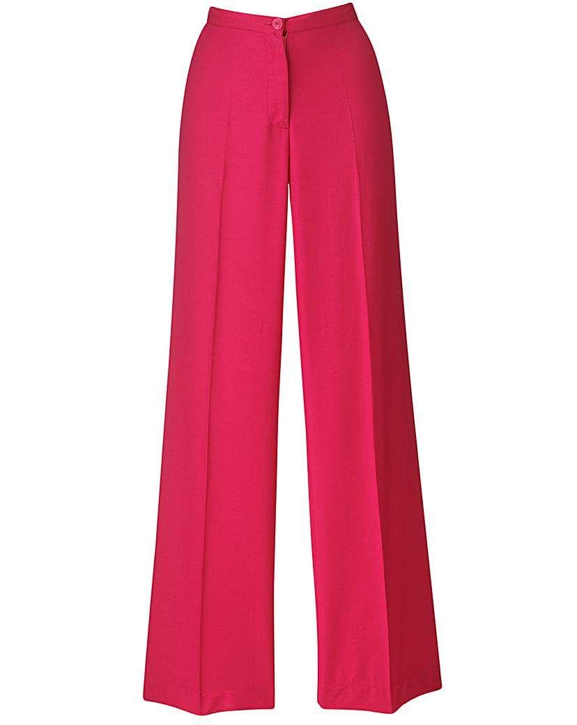 Womens Joanna Hope Wide-Leg Trousers Regular