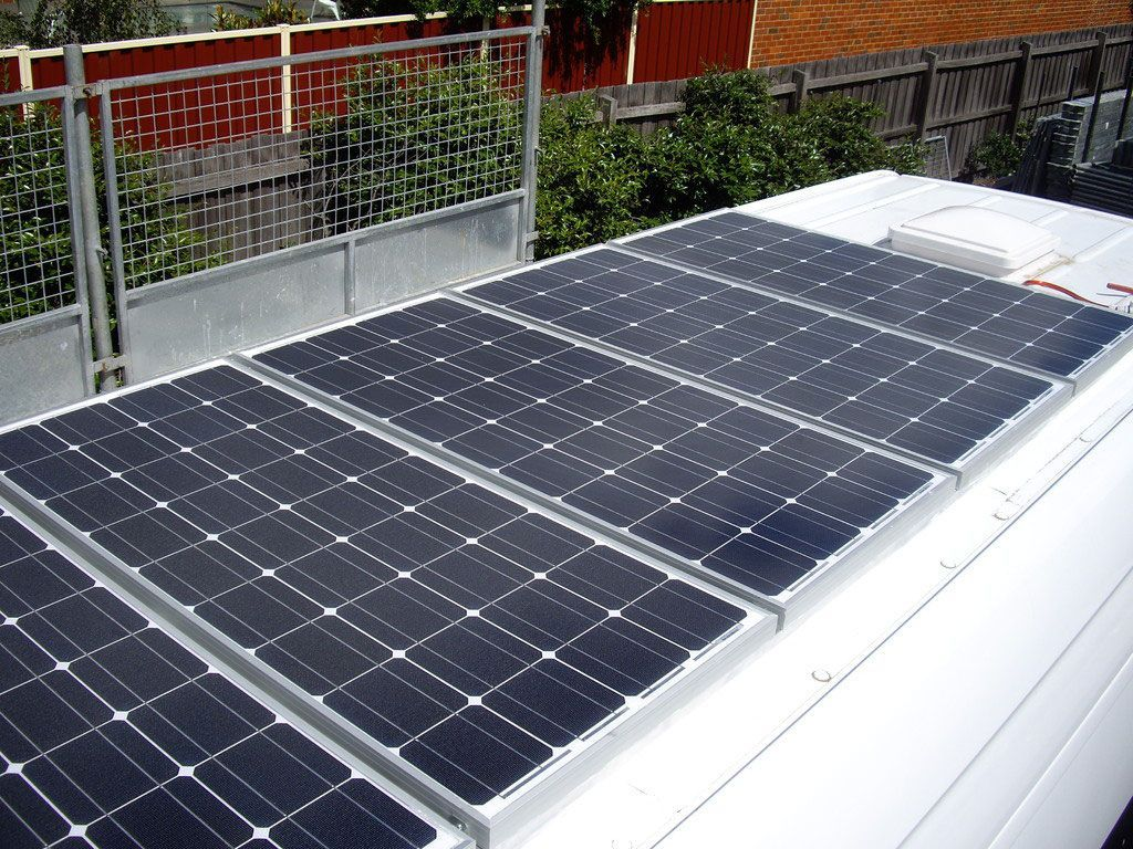 Installation And Pictures Of A Self Sufficient Solar