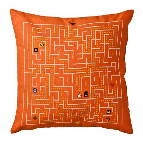 ikea slingrig kissen angenehm zum anlehnen beim lesen computerspielen usw pflegeleicht. Black Bedroom Furniture Sets. Home Design Ideas