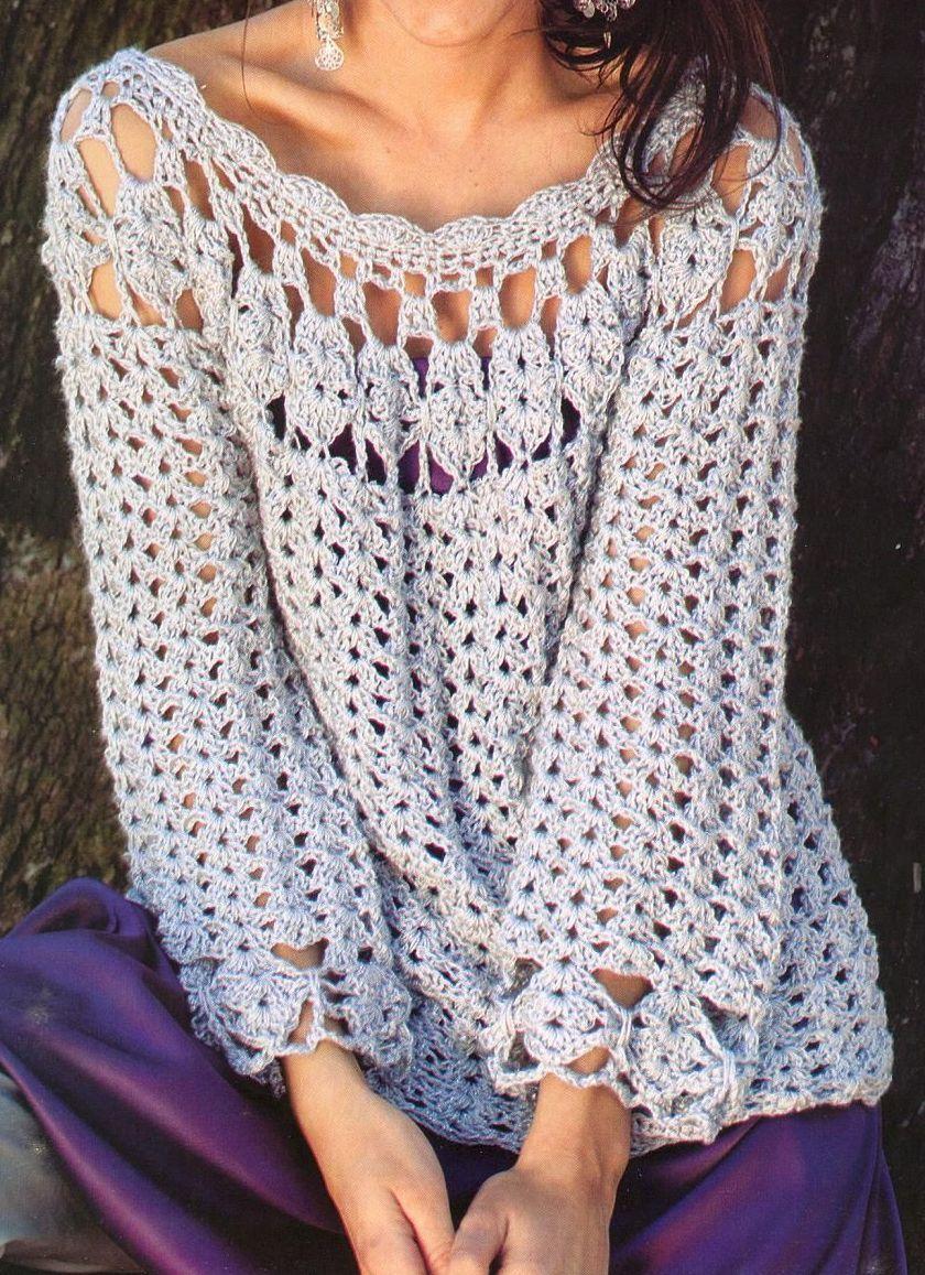 tunica_2.jpg (840×1157) | Crochet | Pinterest | Túnicas, Crochet ...