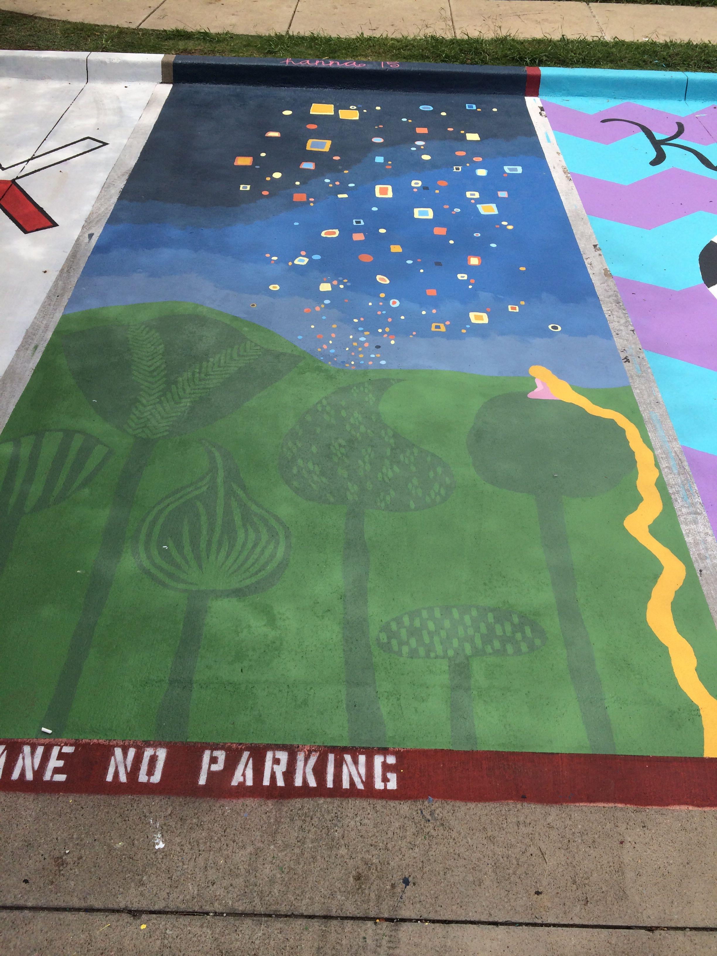 Tangled Senior Spot Parking Spot Painting Parking Lot Painting Crafts For Seniors