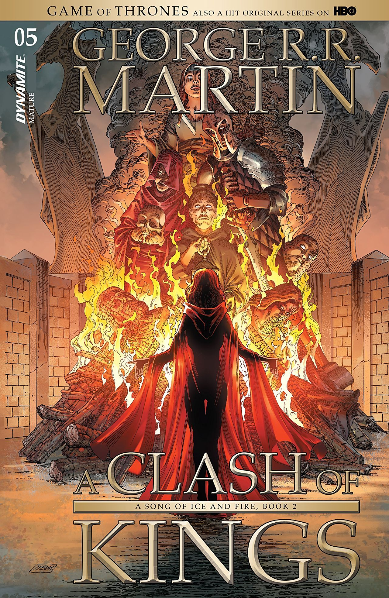 George R R Martin S A Clash Of Kings The Comic Book 5 With