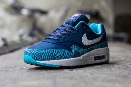 Nike Air Max 1 GS 'Zebra Blue' (With images) | Nike air max