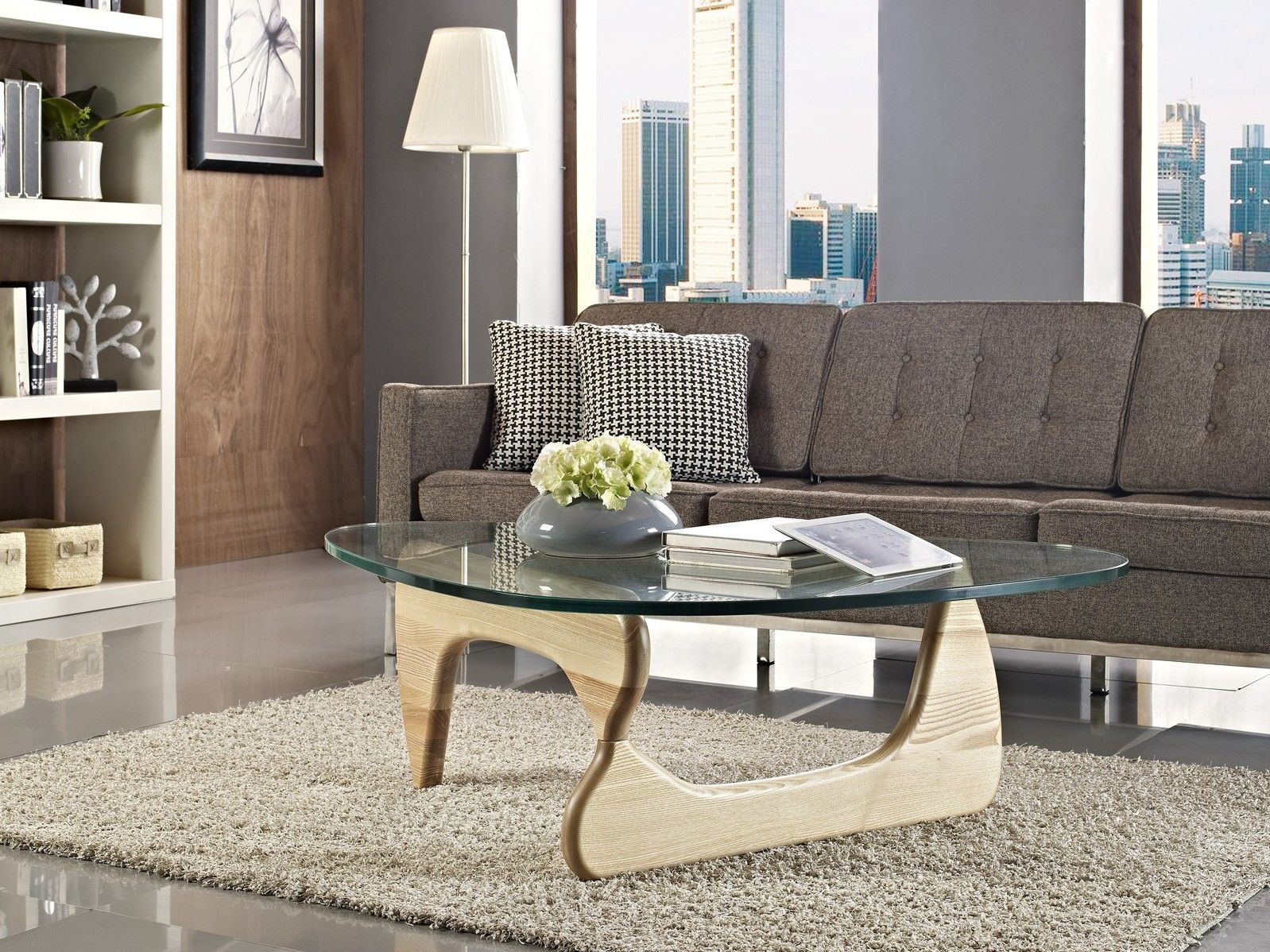 incredible Small Noguchi Coffee Table Part - 6: Delicate Noguchi Coffee Table Coffee Table For Small Living Room, Glass  Furniture, Luxury Furniture