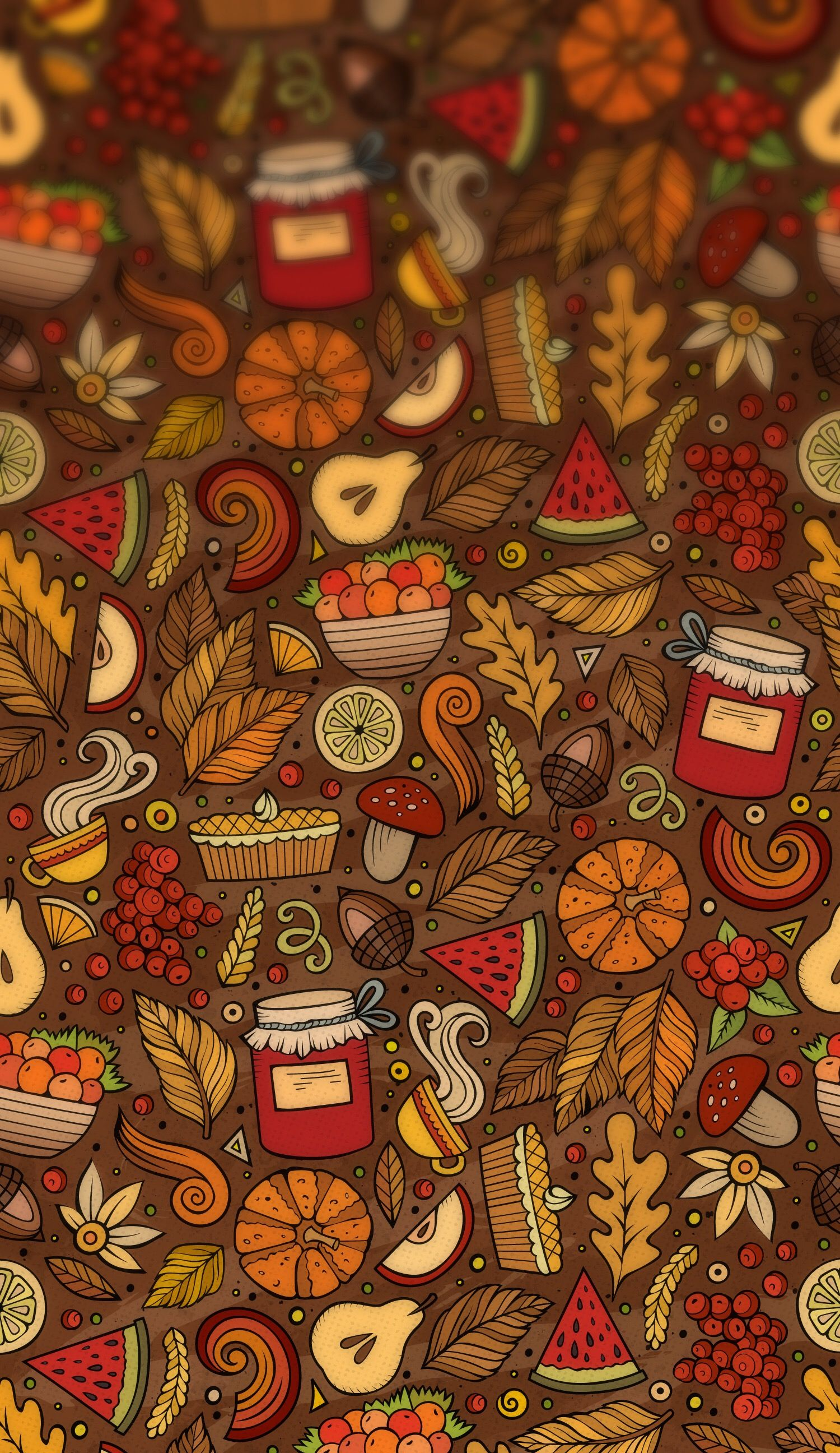 Thanksgiving Plain wallpaper iphone, Fall wallpaper