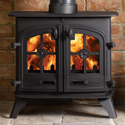 Yeoman Devon 9kw Wood Burning Stove Double Doors 1 055 00 Wood Burning Stove Stove Double Doors