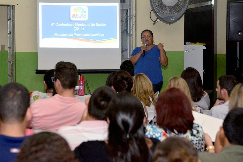 Prefeitura de Boa Vista abre espaço e população sugere melhorias na saúde em pré-conferência #pmbv #prefeituraboavista #roraima #boavista
