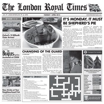 London royal times tissue liners for fish chips for Fish and chips newspaper