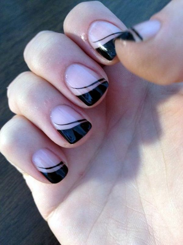 45 Pretty French Nails Designs 2016 | French nails, Beautiful nail ...