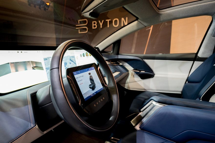 Byton Vp Of Design Benoit Jacob On Designing A Timeless Electric Suv For Modern Consumers Core77 Design Modern Electricity