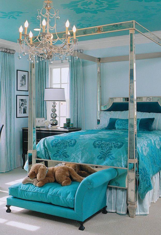 Luxury BedroomsluxurydotcomHouzzcom  Luxury Bedrooms  Bedroom turquoise Turquoise room