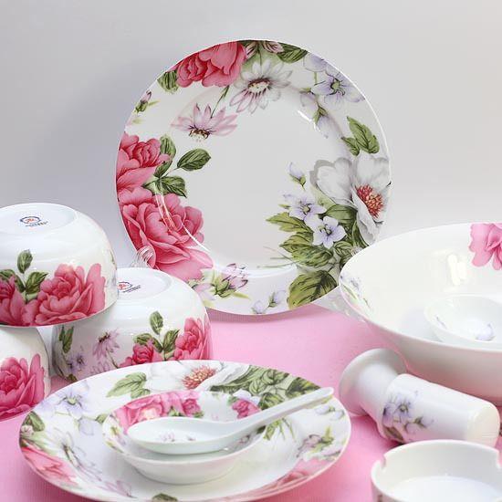 Aliexpress Com Buy Tableware 28 Dishes Bone China Dinnerware Set Bone China Set Married 6 On Ultimate Wedding Gifts China Dinnerware Sets Marriage Gift Items