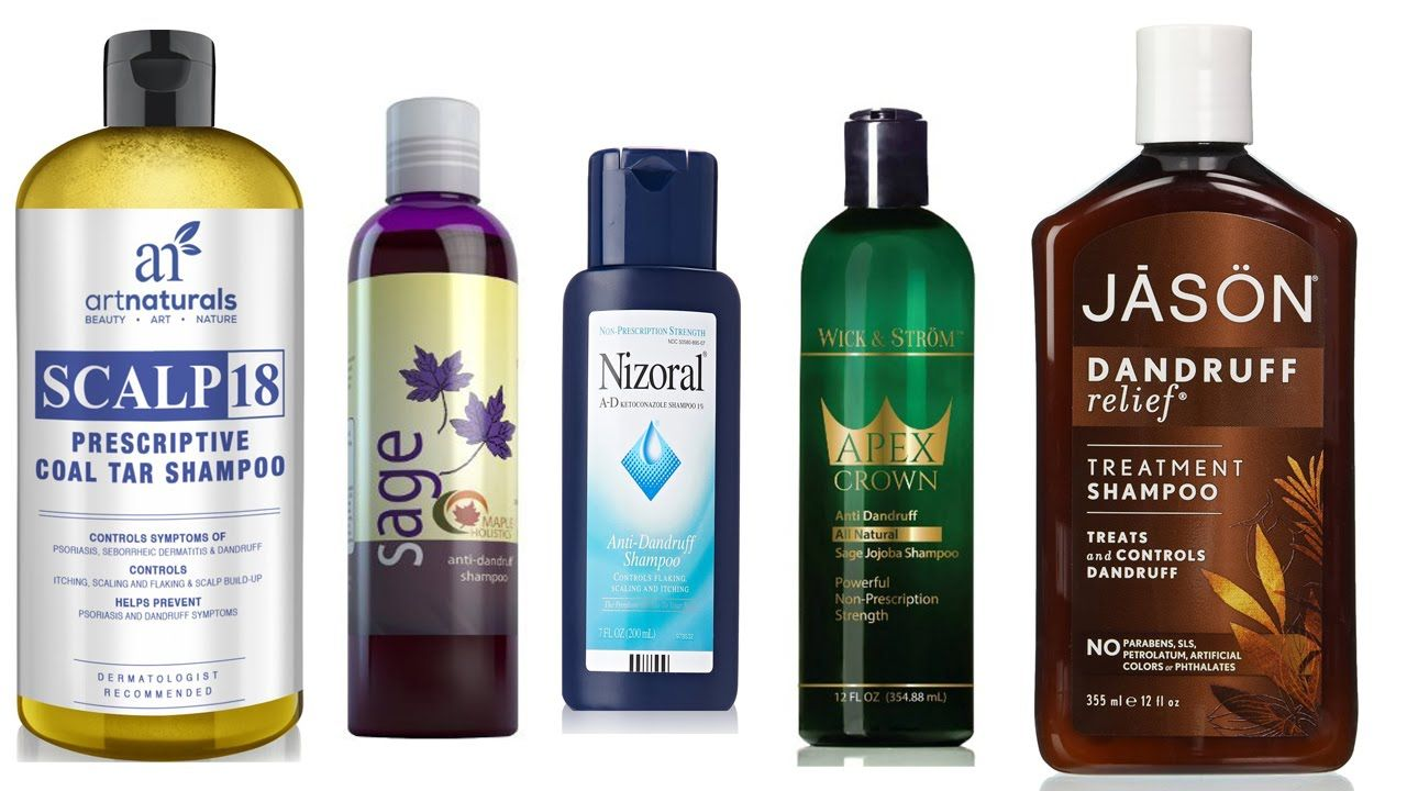 Top 5 anti dandruff shampoo