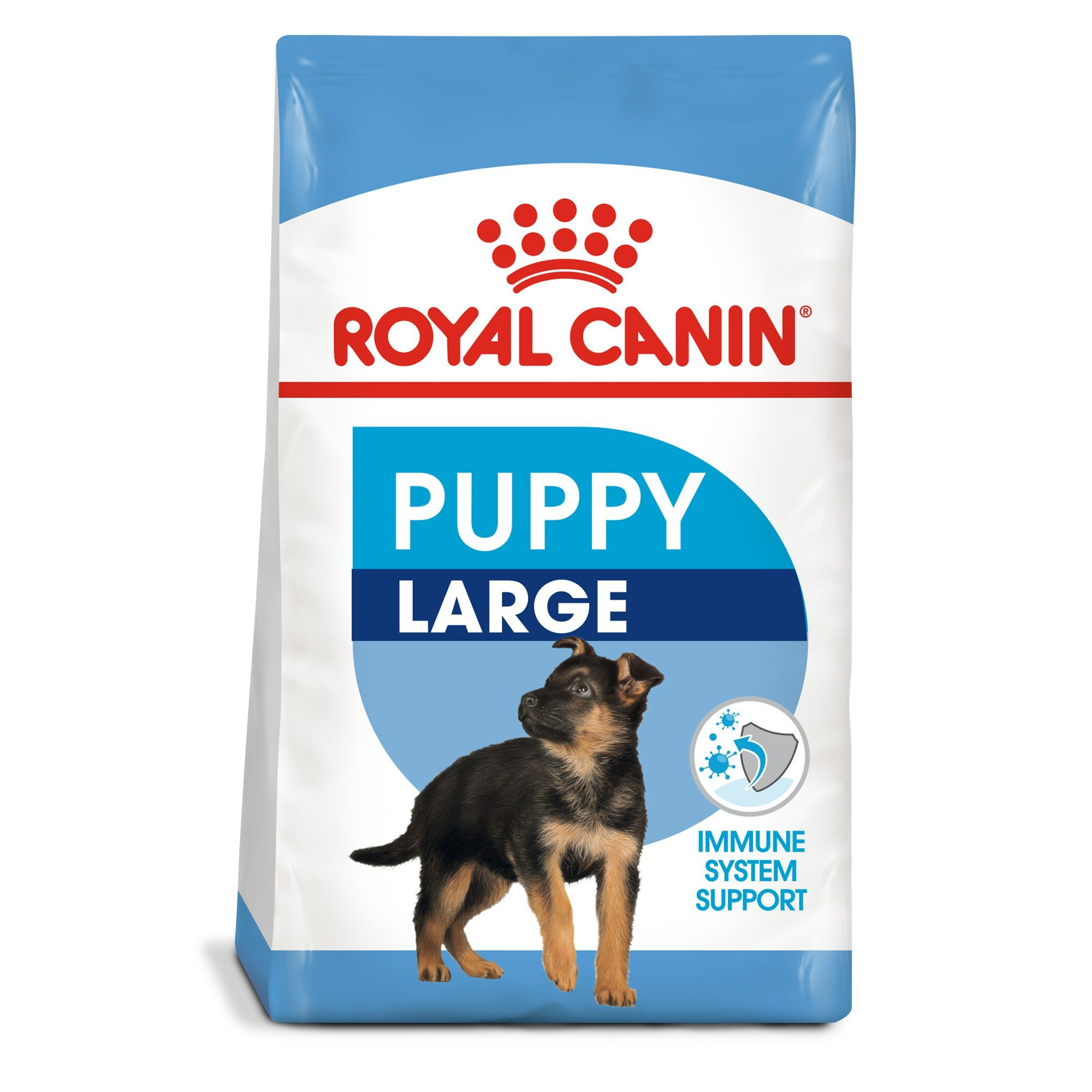 Royal Canin Size Health Nutrition Large Puppy Food Size 35 Lb