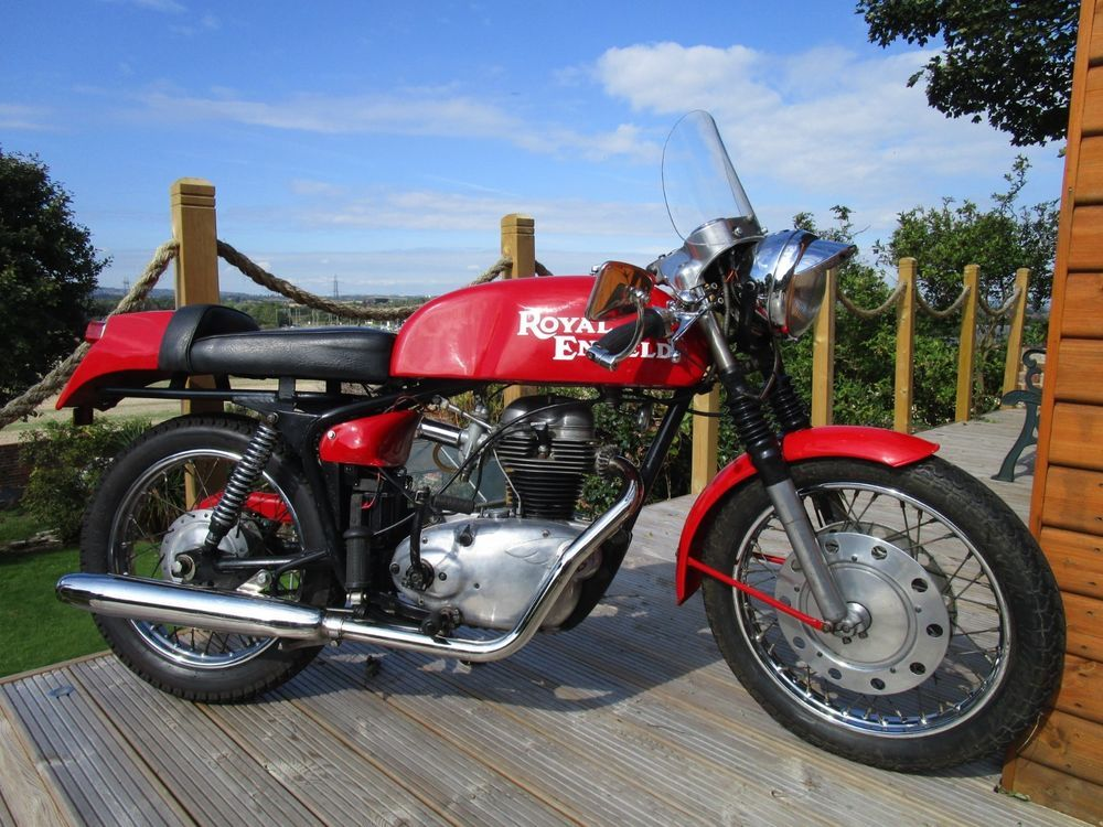 Royal Enfield Continental Gt 1965 Cafe Racer Royal Enfield