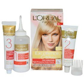 L Oreal Excellence 9a Light Ash Blonde Hair Color 1 Ct Blonde