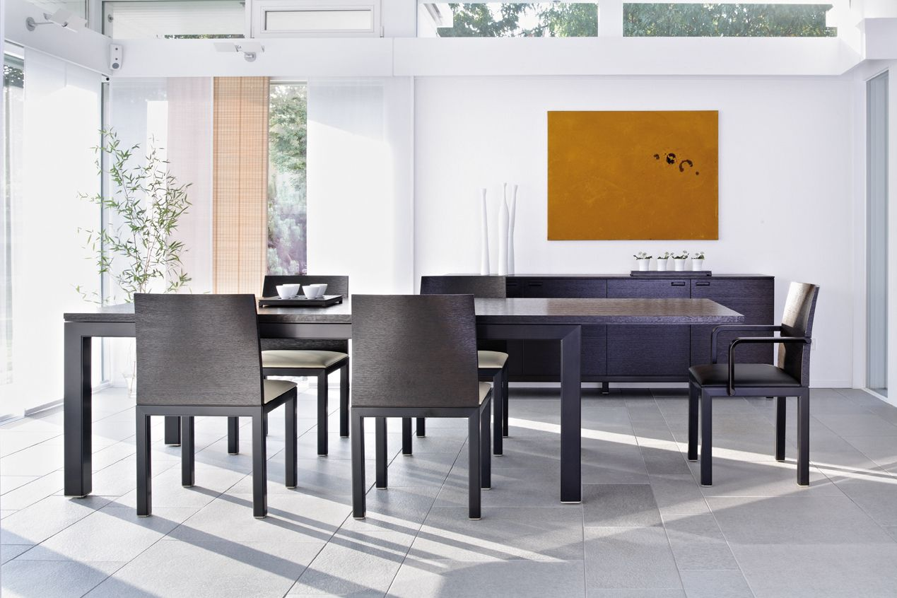 Dining area by Conde House
