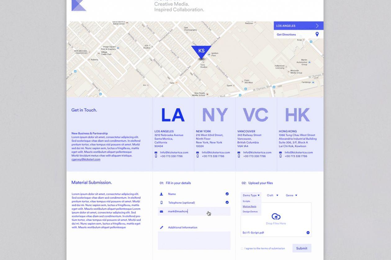 Kickstart Media Group Mash Creative Web Design Well Designed Websites Web Design Inspiration